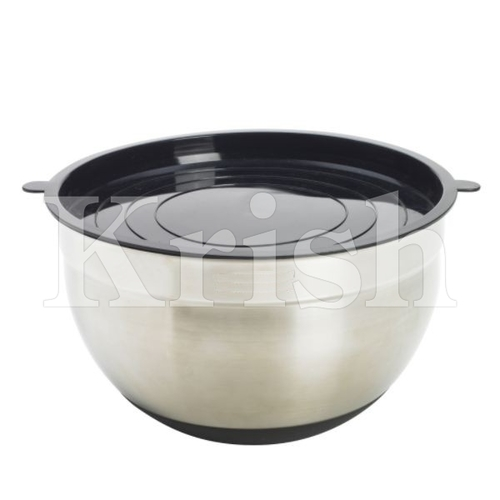 Silicone Base German Bowl With PP LId