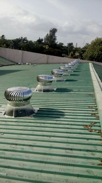 Polycarbonate Base Roof Ventilator.