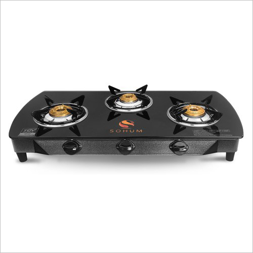 Three Burner PNG Gas Stove With Safety Device