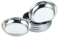 Round Halwa Plate
