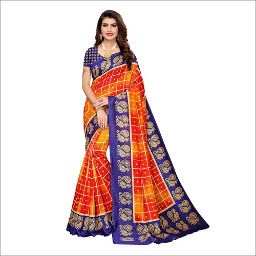 JOYA SILK PRINTED SAREE