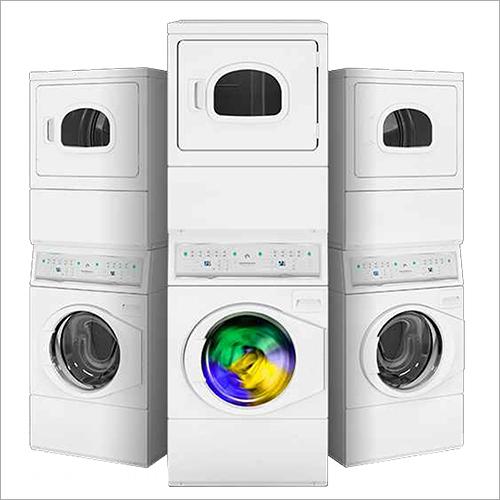 Stacked Washer and Dryer Machine