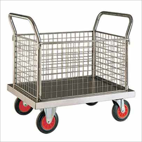 Stainless Steel Dry Linen Trolley