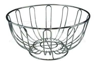 Wire Fruit Basket Round