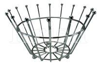Wire Fruit Basket - Queens Crown