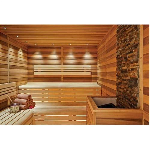 Wooden Sauna Bath