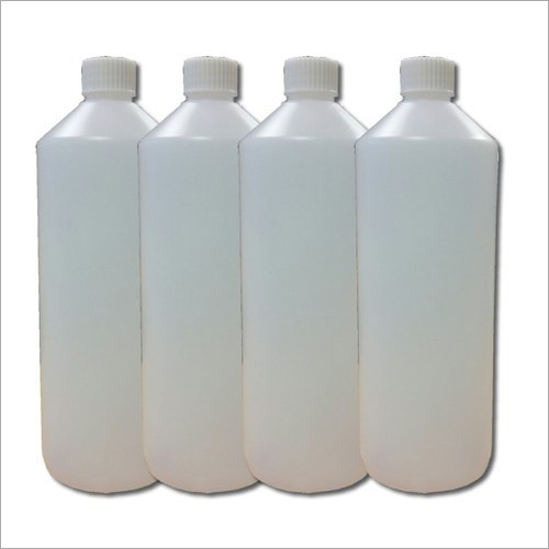 White Plastic Chemical Bottle
