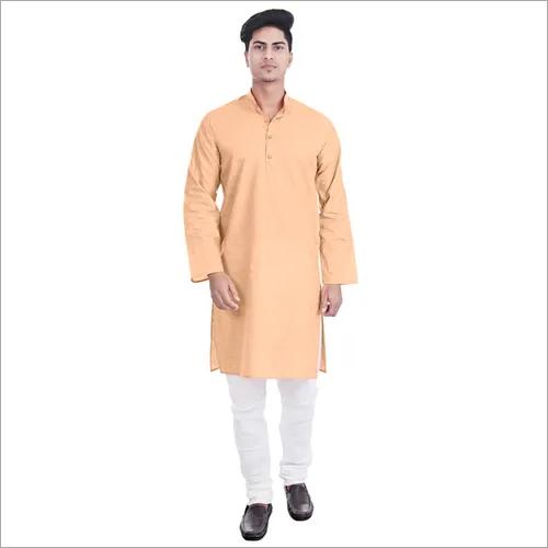 Lucknowi Chikan Mens Kurta