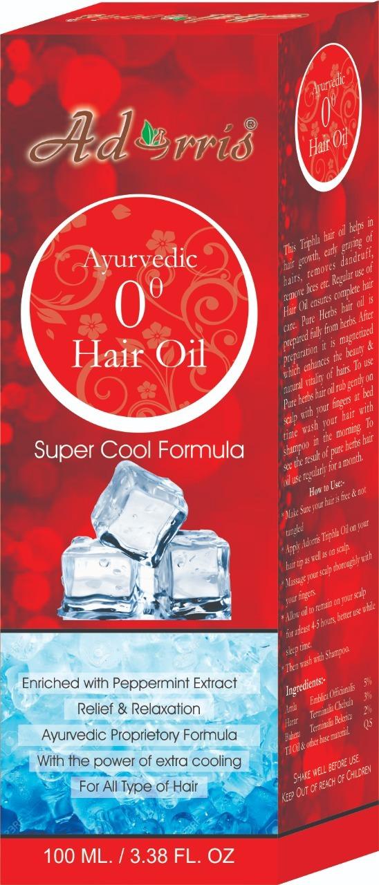 0 DEGREE HAIR OIL