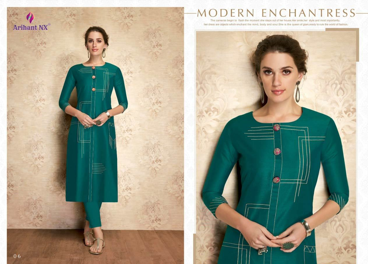 VISCOSE SILK CASUAL WEAR LONG KURTI
