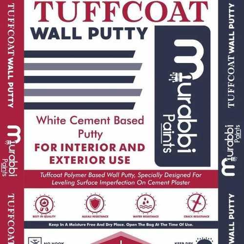 Tuffcote white cement base polymer putty