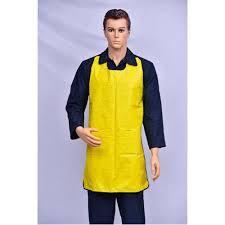 Safety PVC Apron Yellow
