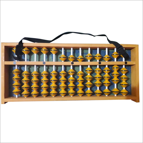 13 Rod Yellow Teacher Abacus
