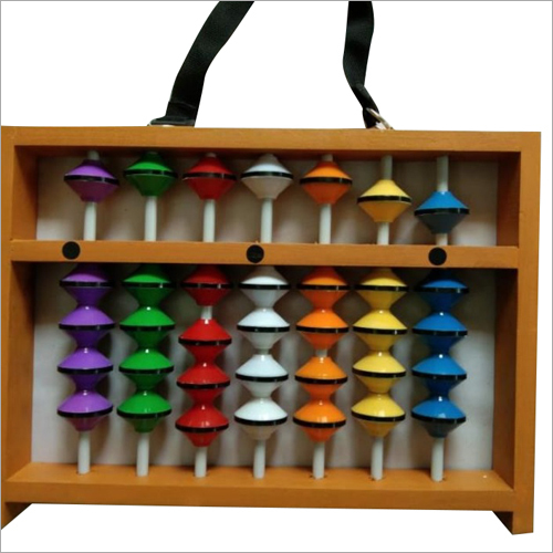 7 Rod Multicolour Teacher Abacus