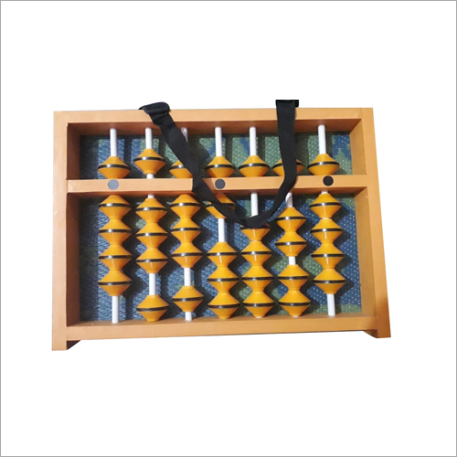 7 Rod Yellow Master Abacus