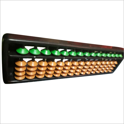 15 Rod Green And Brown Student Abacus