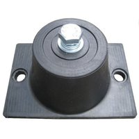Black Rubber mounting ped