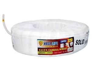 CCTV Cable 3+1 (90 Meter) Kasa Life Regular Solid