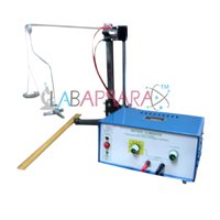 MELDES EXPERIMENTS BY USING ELECTRICALLY MAINTAINED TUNING FORK EXPERIMENTAL SET UP LABAPPARA