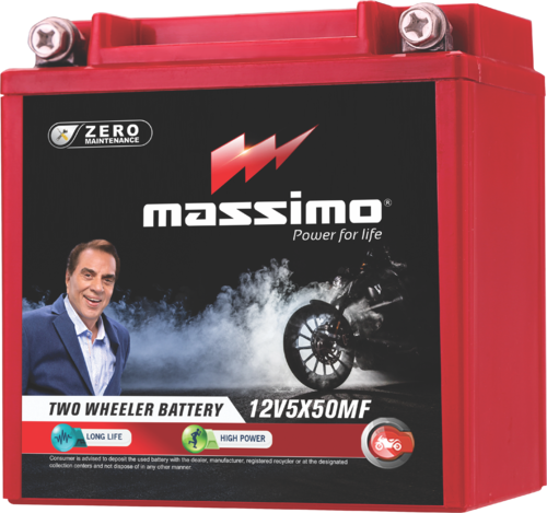 Massimo Three Wheeler Batteries