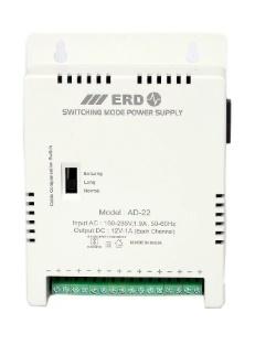 ERD CCTV Camera Power Supply 8 Channel AD 22