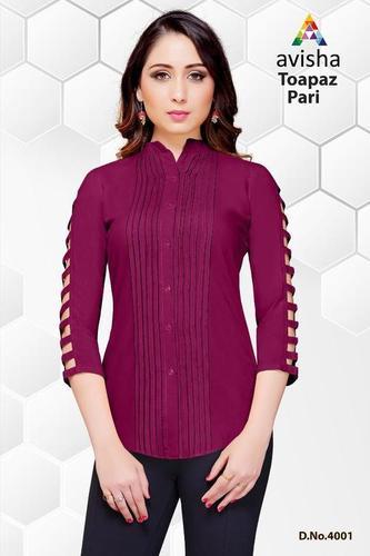Designer Top ( Venisa Topaz Pari )