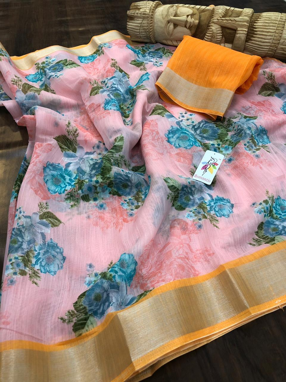 LINEN SAREE COLLECTION