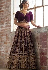 Womens Wedding Lehenga Choli