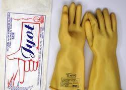 Jyot Electric Hand Glove 11KVA (Cream)