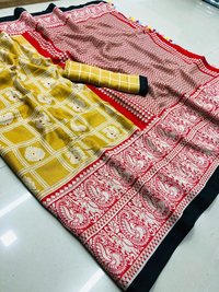 Linen With Rich Pallu Saree