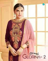 GEORGETTE HEAVY SHARARA DRESS COLLECTION