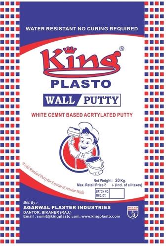 King Plasto Wall Putty