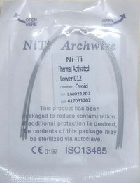 DENTAL NITI HEAT ACTIVATED WIRE - ROUND