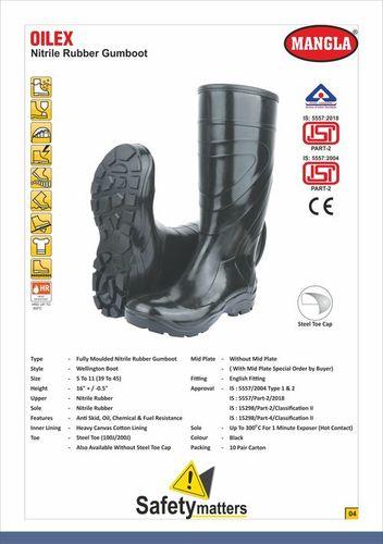 Oilex Nitrile Butadiene Rubber Gumboot