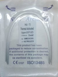 DENTAL NITI HEAT ACTIVATED WIRE - RECTANGULAR