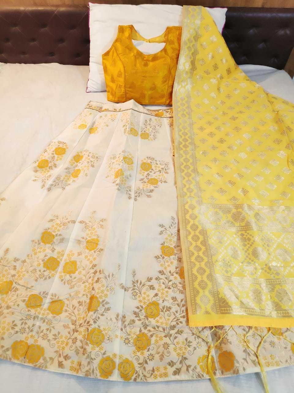 Fancy and Designer Banarasi brocade Lehnga choli