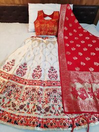 Fancy and Designer Banarasi brocade Lehnga choli