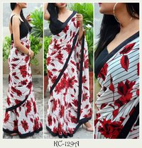 LATEST GEORGETTE PRINTED SAREE COLLECTION