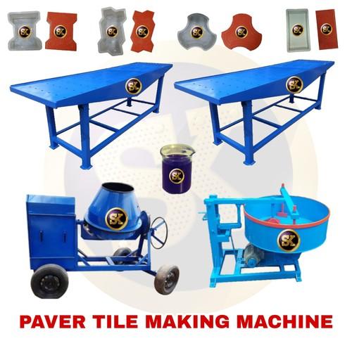 Interlocking Tiles Making Machine