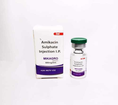 Amikacin Sulphate 500 Mg Injection (Mikagro-500 Inj)