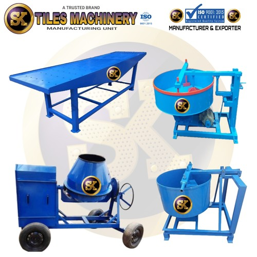 Interlocking Tiles Making Machine Manufacturer