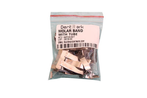 DENTAL BUCCAL TUBES WITH MOLAR BAND