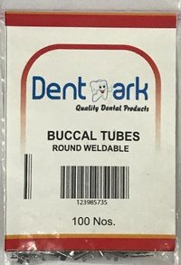 DENTAL BUCCAL TUBES ROUND WELDABLE