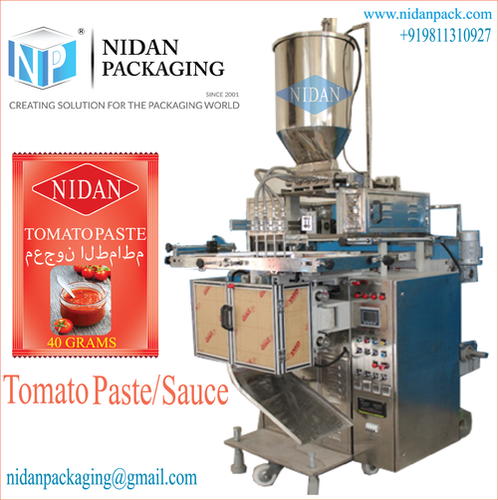 Tomato Paste/ Puree Pouch Packaging Machine
