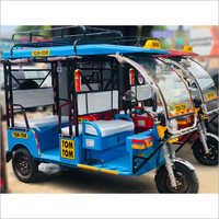 4 Seaters Battery Operated Passenger E-Rickshaw