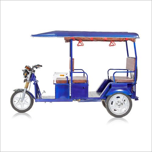 Stainless Steel E-Rickshaw