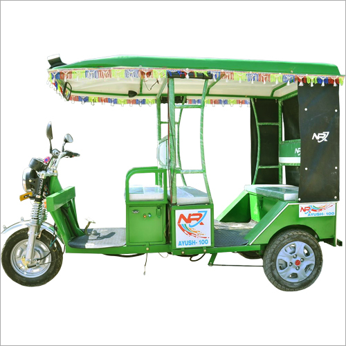 Open Body E-Rickshaw
