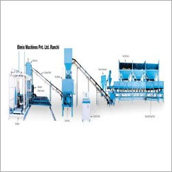 Fully Automatic Fly Ash Bricks Making Machine with Batching Plant