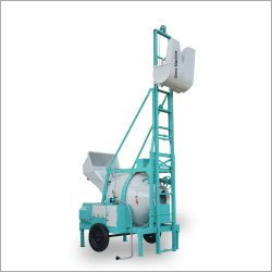 Diesel Concrete Mixer With Hoist Lift