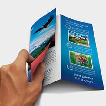 Tri Fold Customized Printed Leaflet